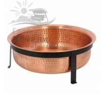 Чаша для костра CobraCo Ванна твердая медь SH101