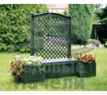 Садовая скамейка Копенгаген зеленая