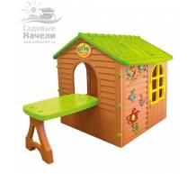 Игровой домик со столом Mochtoys 11045