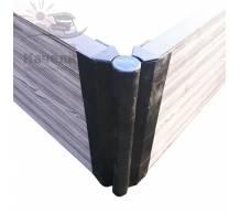 Угловой шарнир для досок ДПК 30х300 мм