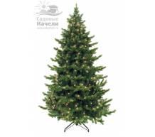 Ёлка Triumph Tree Шервуд Премиум 185 см 200 ламп зеленая