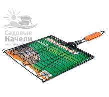 Решетка Green Glade 7048 для рыбы и мяса, 28х28 см