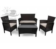 Комплект плетеной мебели TJF-R406