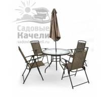 Комплект плетеной мебели TJF-T007-BG