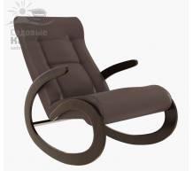 Кресло-качалка Мальта экокожа