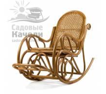 Кресло-качалка Мебель Импэкс Moscow с подушкой