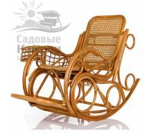 Кресло-качалка Coral с подушкой
