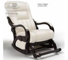 Кресло-качалка глайдер Родос экокожа