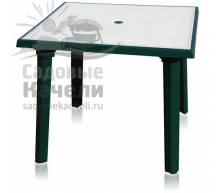 Квадратный стол с рисунком 90х90