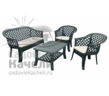 Комплект пластиковой мебели Diva