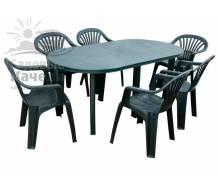 Комплект пластиковой мебели Persei