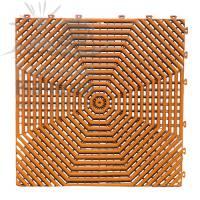 Плитка садовая Helex HLT 40х40 см терракотовая