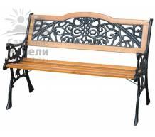 Садовая скамейка Арабеска