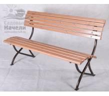 Садовая скамейка Бюджет