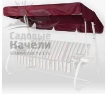 Тент крыша SEBO для качелей Капри Бордовый