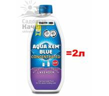 Жидкость Thetford Aqua Kem Blue Concentrated Lavender 0.78 л